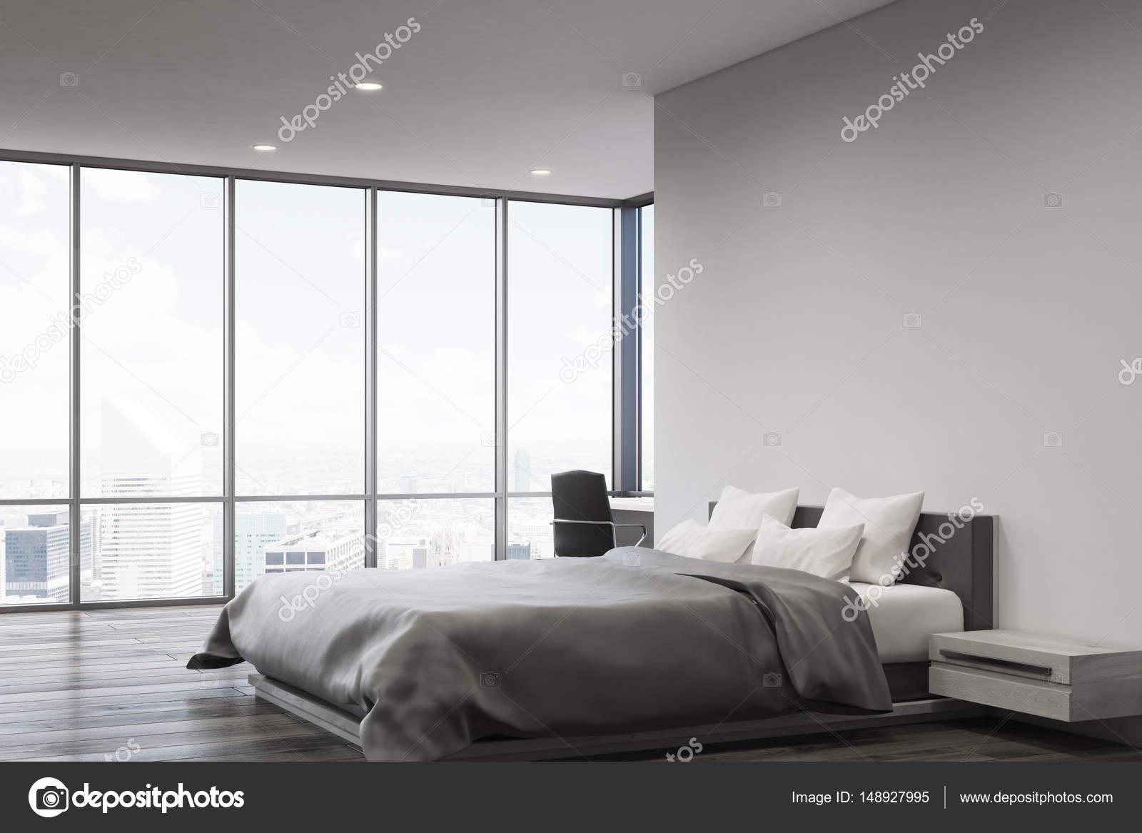 Chambre mur gris, côté — Photographie denisismagilov © #148927995