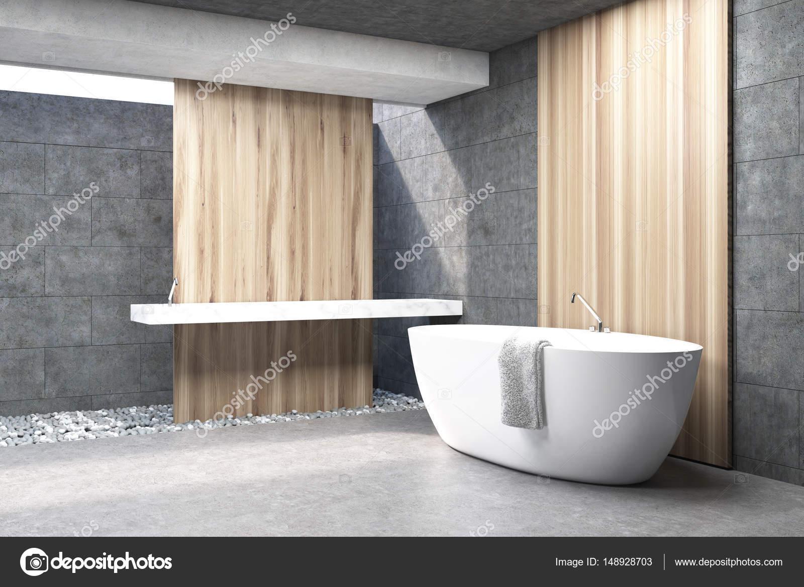 Salle De Bain Grise Et Blanc ~ baignoire de salle de bain gris blanc c t photographie