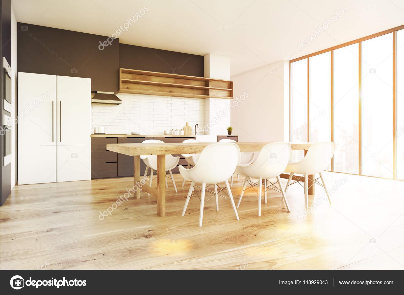 Holzfußboden In Küche ~ Holzboden küche side getönt u stockfoto denisismagilov