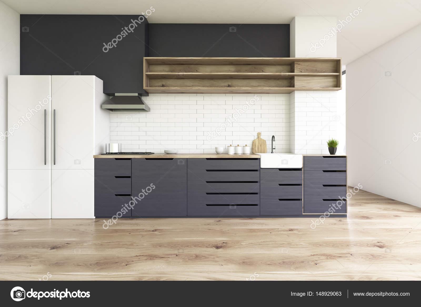 Schwarze Arbeitsplatten Küche — Stockfoto © denisismagilov #148929063