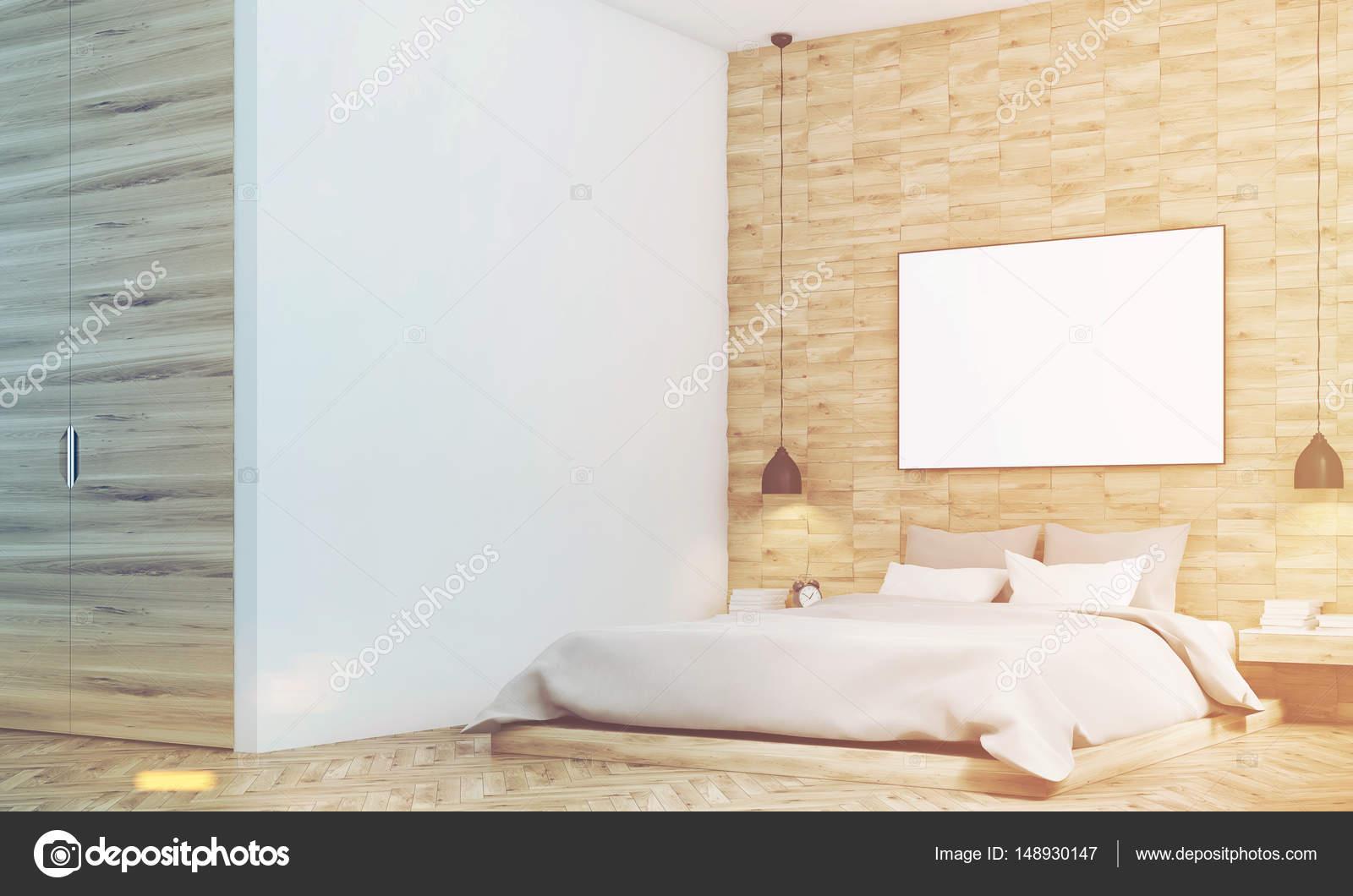 Camera Da Letto Legno Chiaro : Camera da letto in legno chiaro lato tonica u2014 foto stock