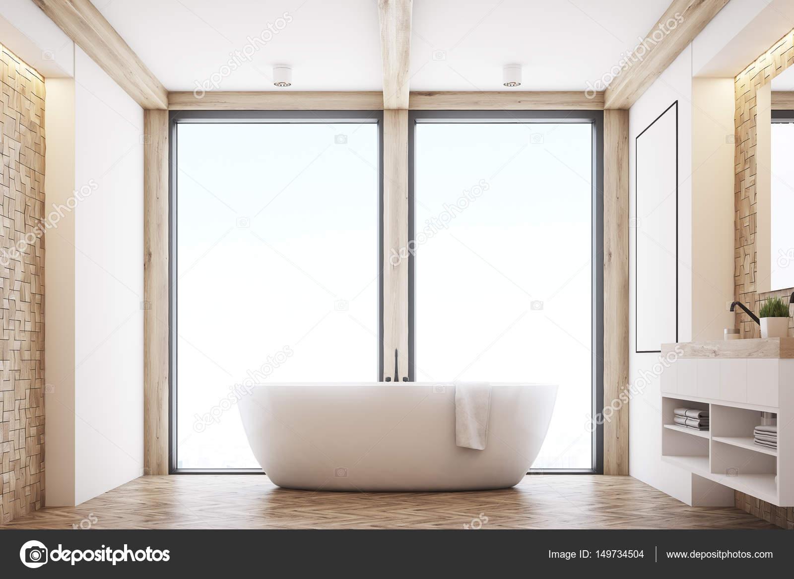 Badkamer Lichte Tegels : Lichte tegels badkamer venster u stockfoto denisismagilov