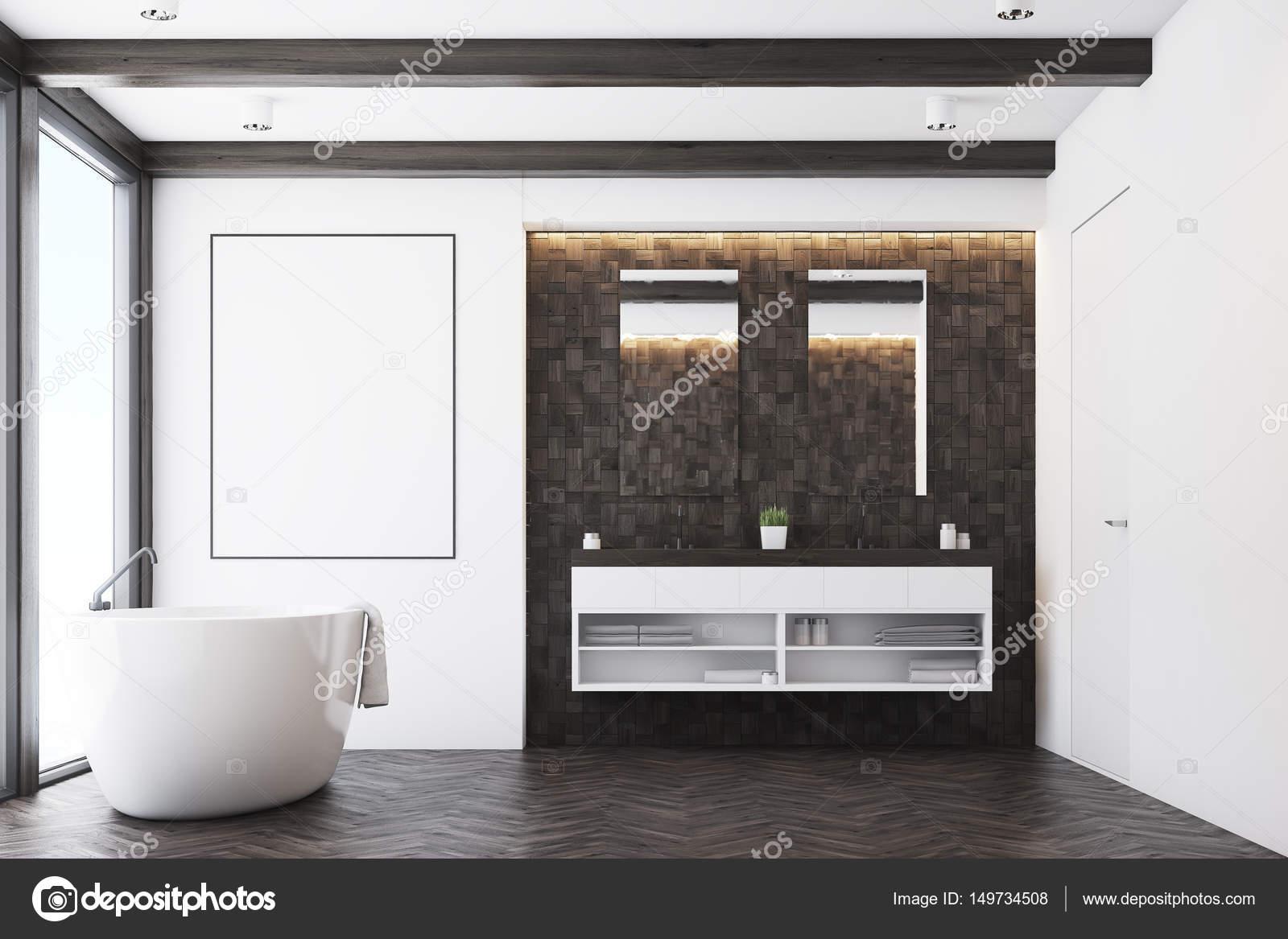 Salle De Bain Foncee ~ salle de bains carrelage fonc poster photographie denisismagilov