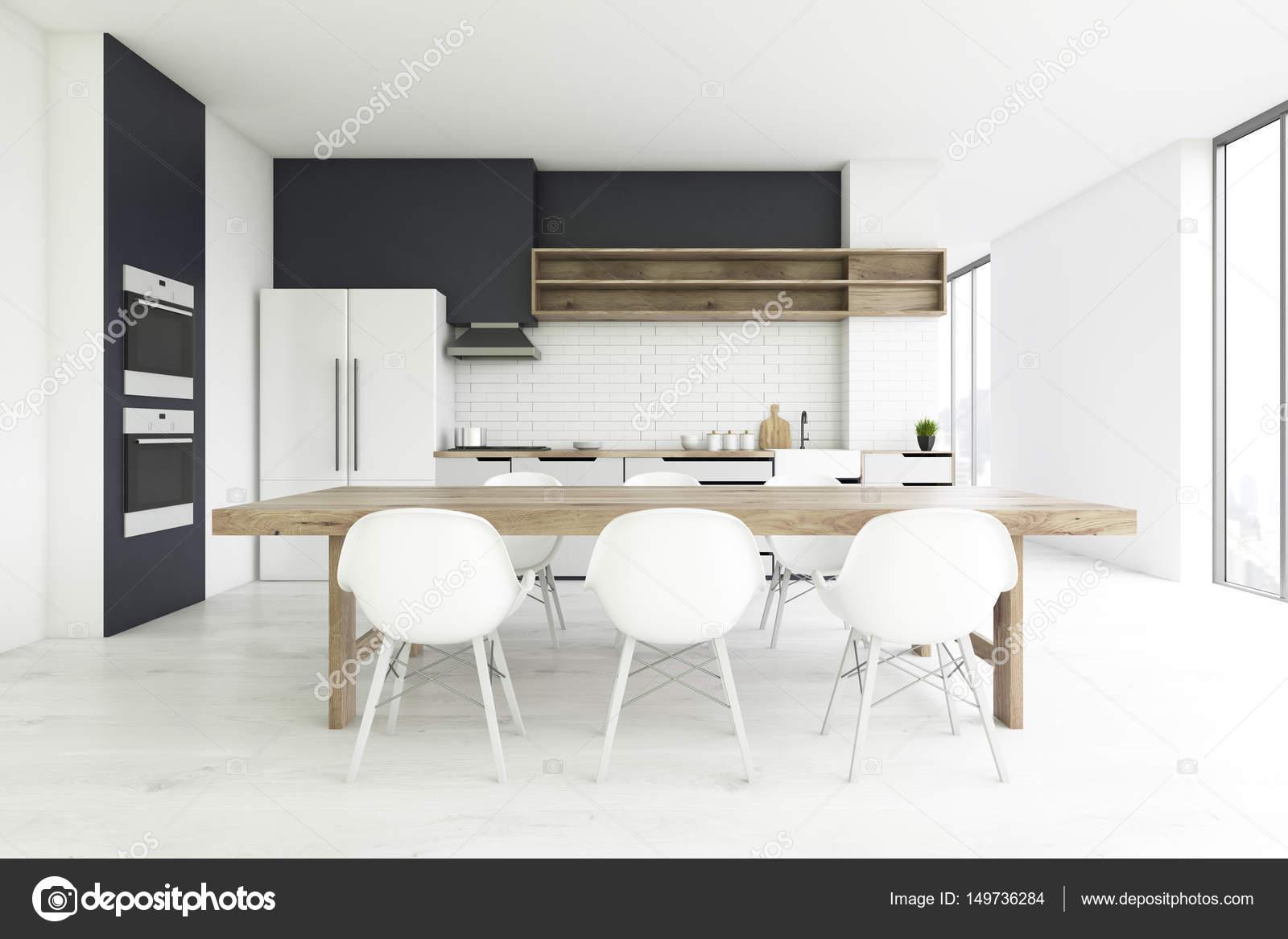 Cemento al piano cucina, anteriore — Foto Stock ...