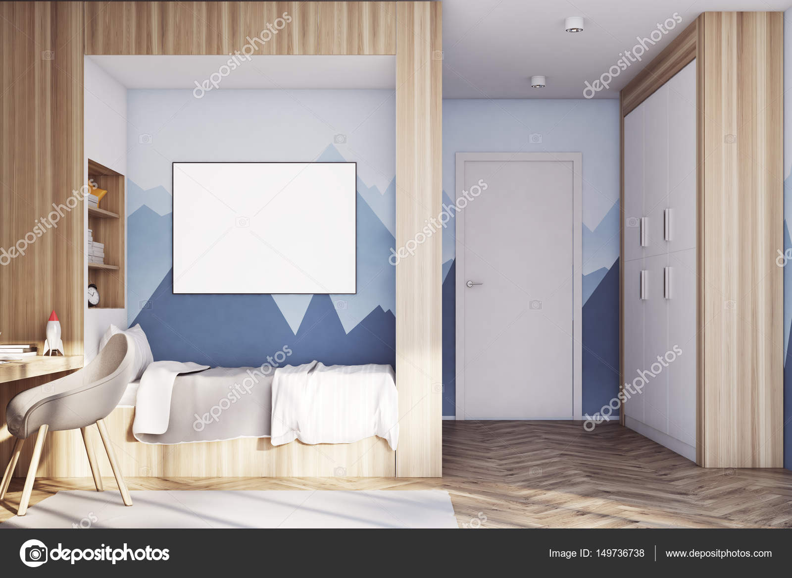 Good Wallpaper Mountain Room - depositphotos_149736738-stock-photo-kids-room-with-poster-close  Picture_391613.jpg