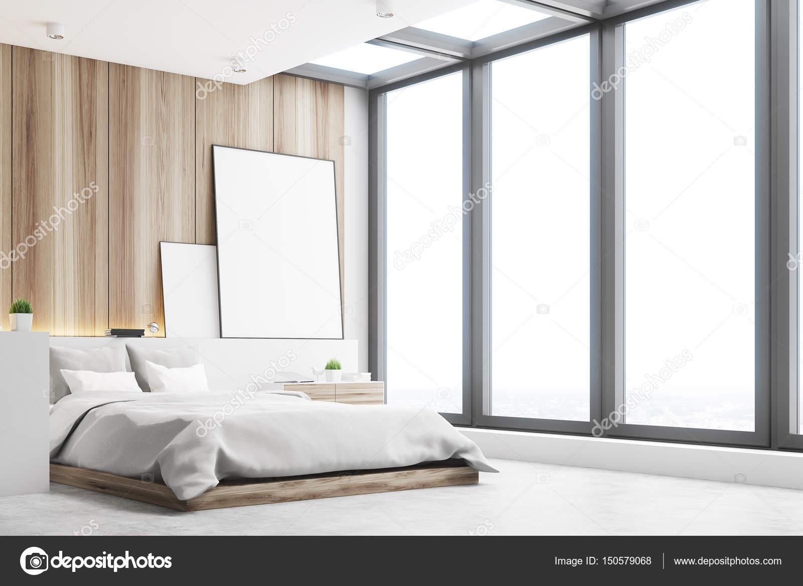 Slaapkamer Met Hout : Lichte slaapkamer hout kant u2014 stockfoto © denisismagilov #150579068
