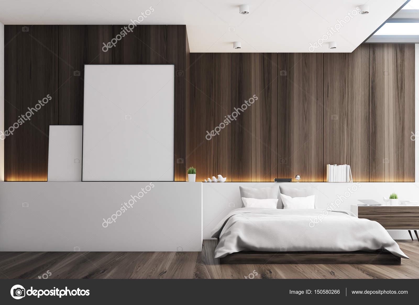 Donkere slaapkamer, posters — Stockfoto © denisismagilov #150580266