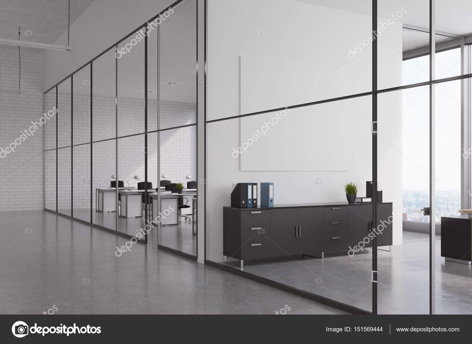 Büro Lobby Mit Glaswänden Stockfoto Denisismagilov 151569444