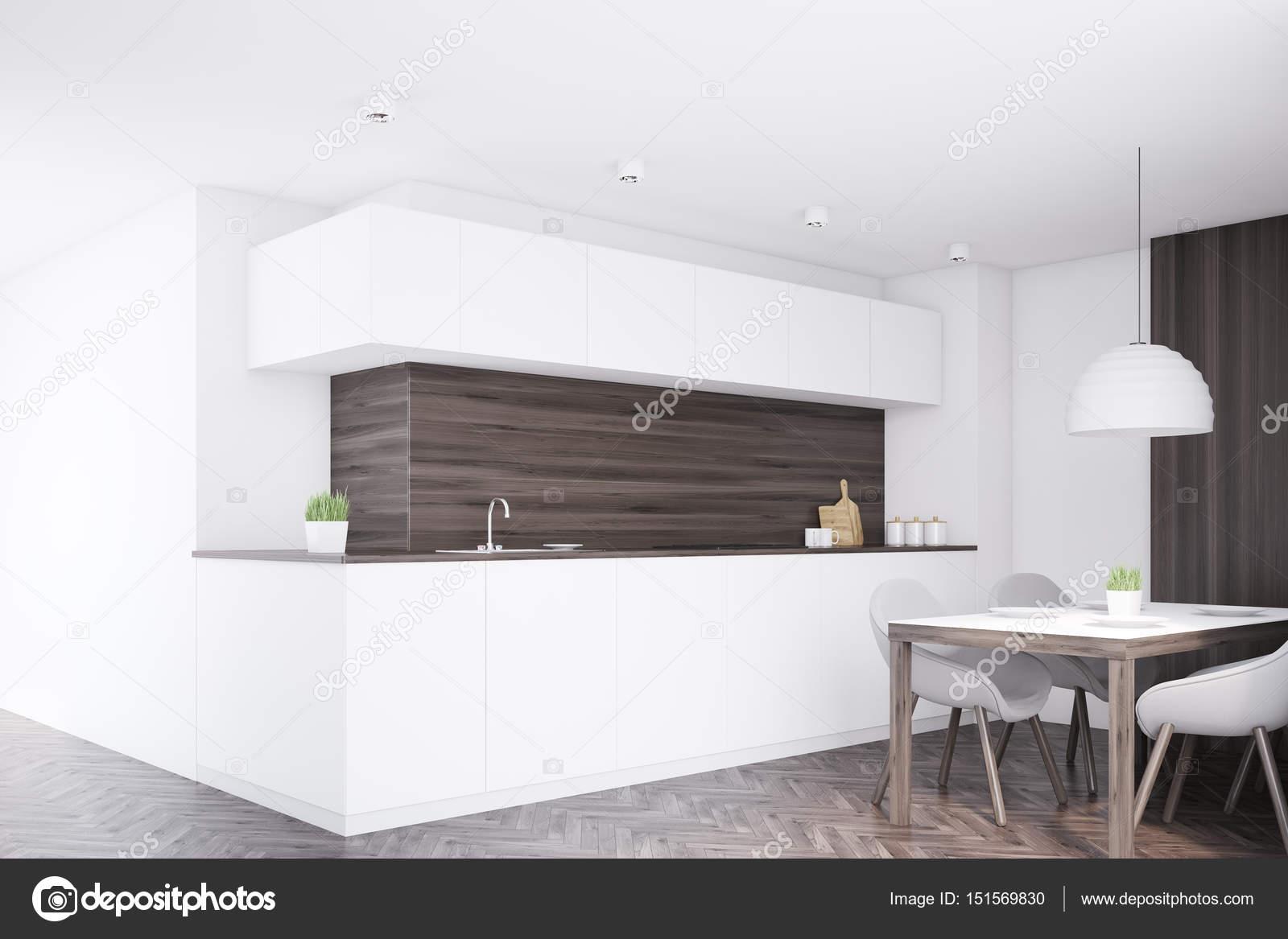 Dunkle Küchentheke, Tisch, Ecke — Stockfoto © denisismagilov #151569830