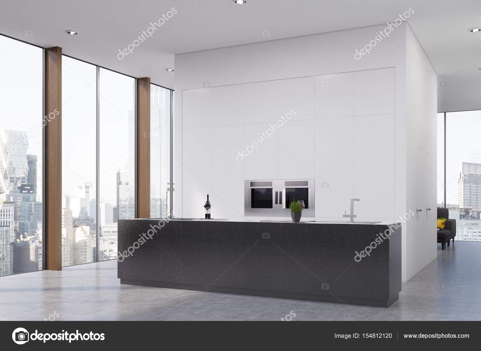 Küche mit Bar, Ecke — Stockfoto © denisismagilov #154812120