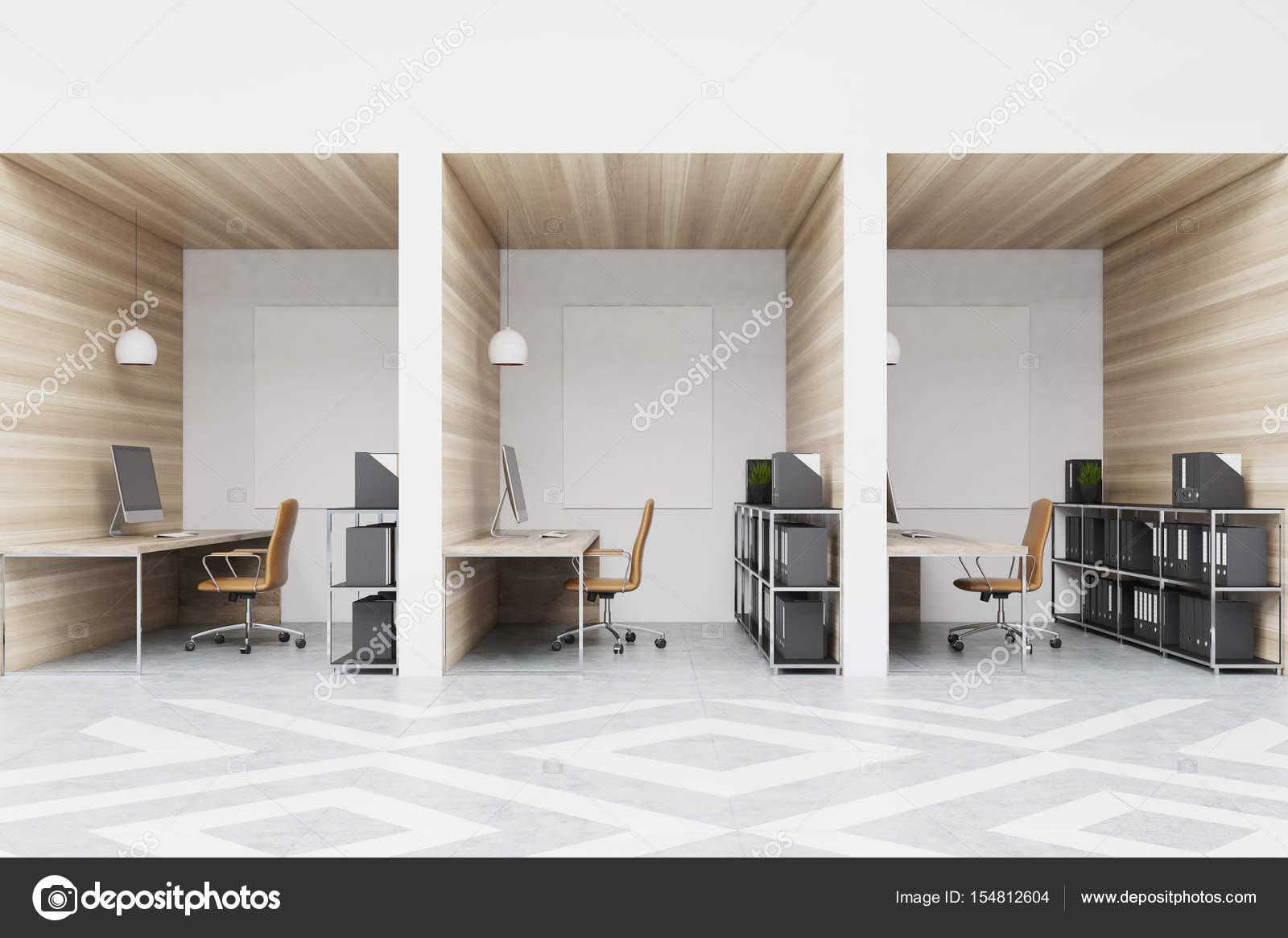 Diamante de oficina cub culos con fotos madera fotos de for Cubiculos para oficina precios