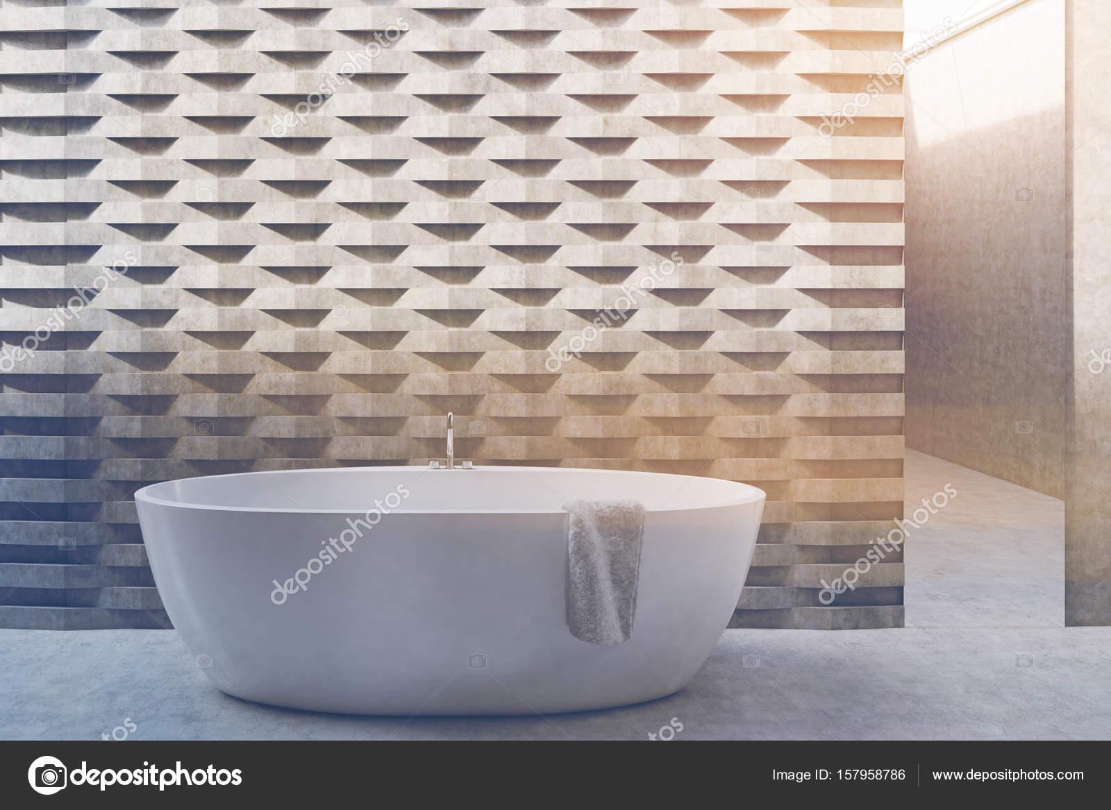 Vasca Da Bagno Rotonda : Vasca da bagno rotonda mattoni modello muro tonica u2014 foto stock