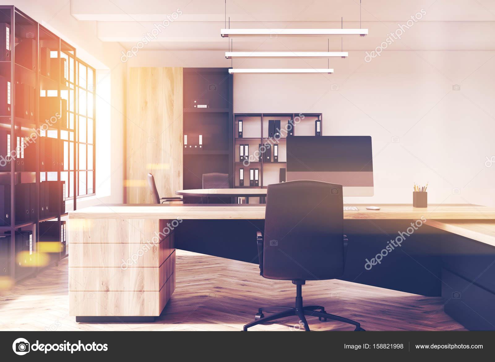 Lumière du soleil intérieur pdg de bureaux modernes u2014 photographie