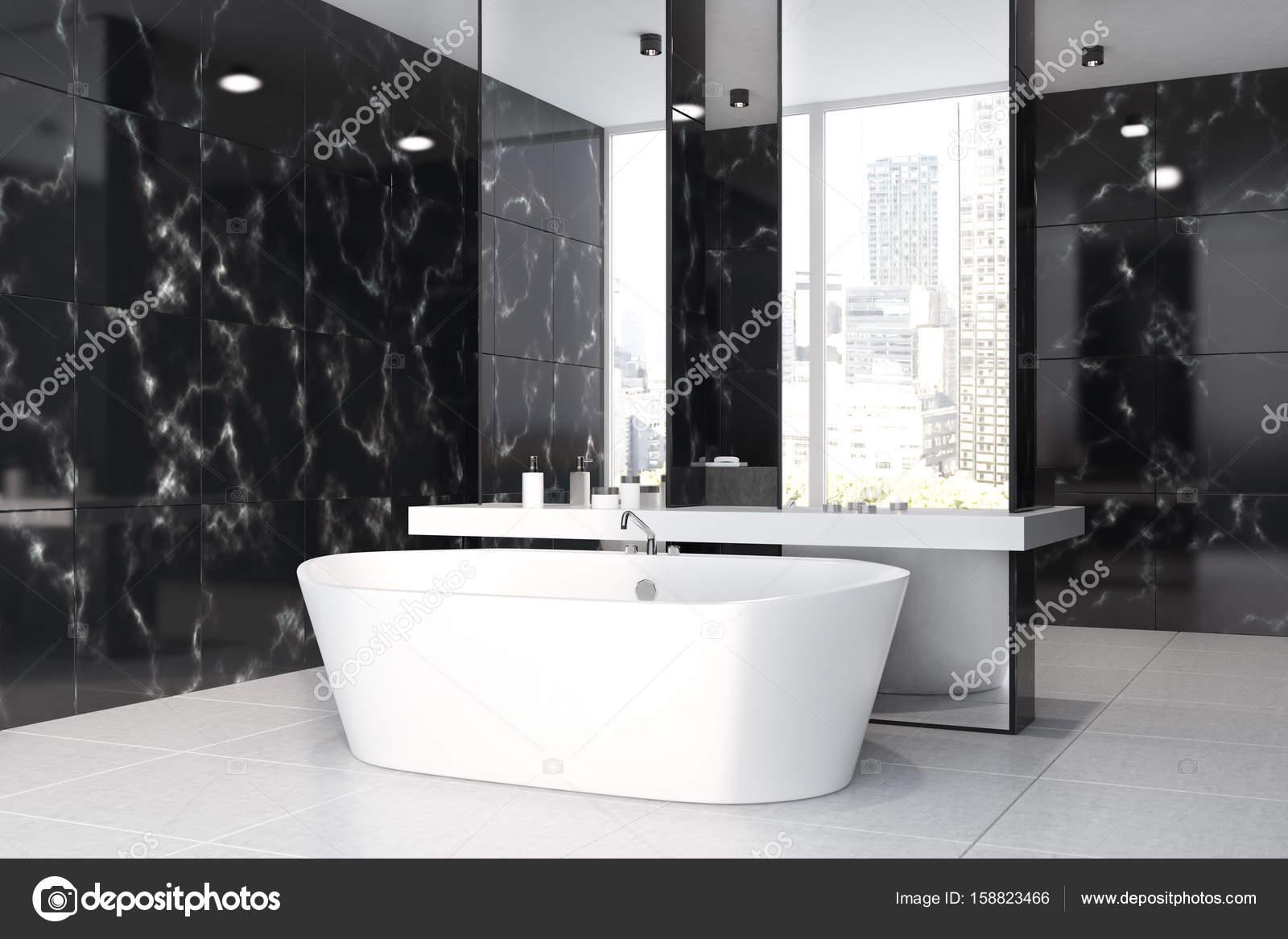Black marble bathroom image bathroom 2017 for Black marble bathroom