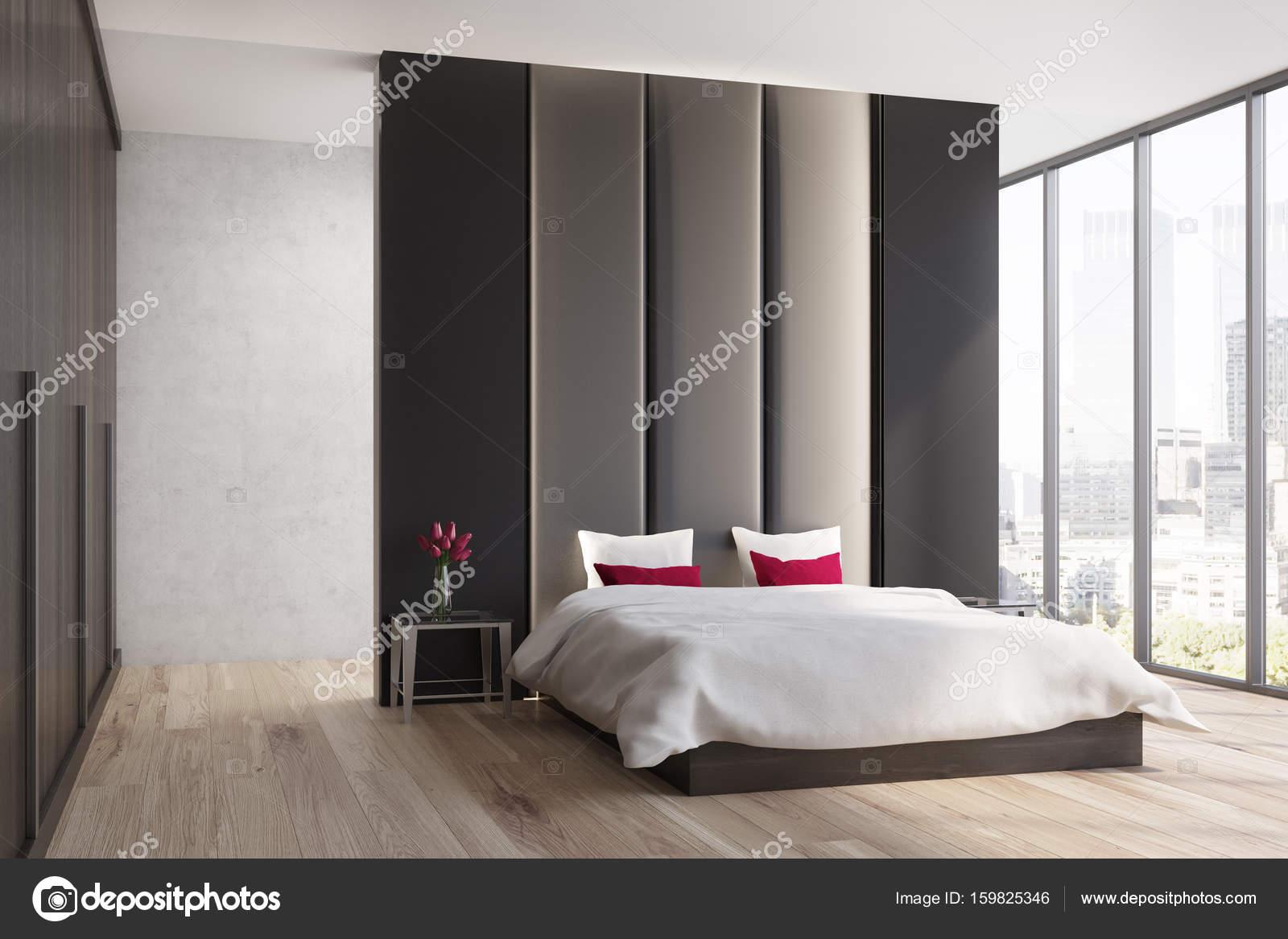 Bruine en beige slaapkamer, kant — Stockfoto © denisismagilov #159825346