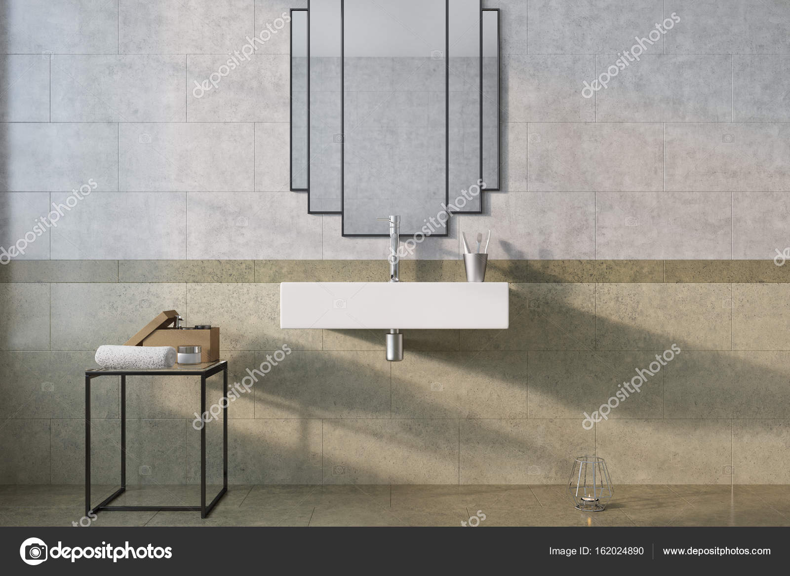 Vintage Badkamer Spiegel : Originele spiegel marmeren badkamer wastafel u2014 stockfoto