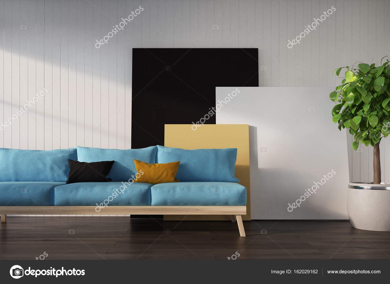Turquoise Muur Woonkamer. Bohemian Interieur Woonstijlen En ...