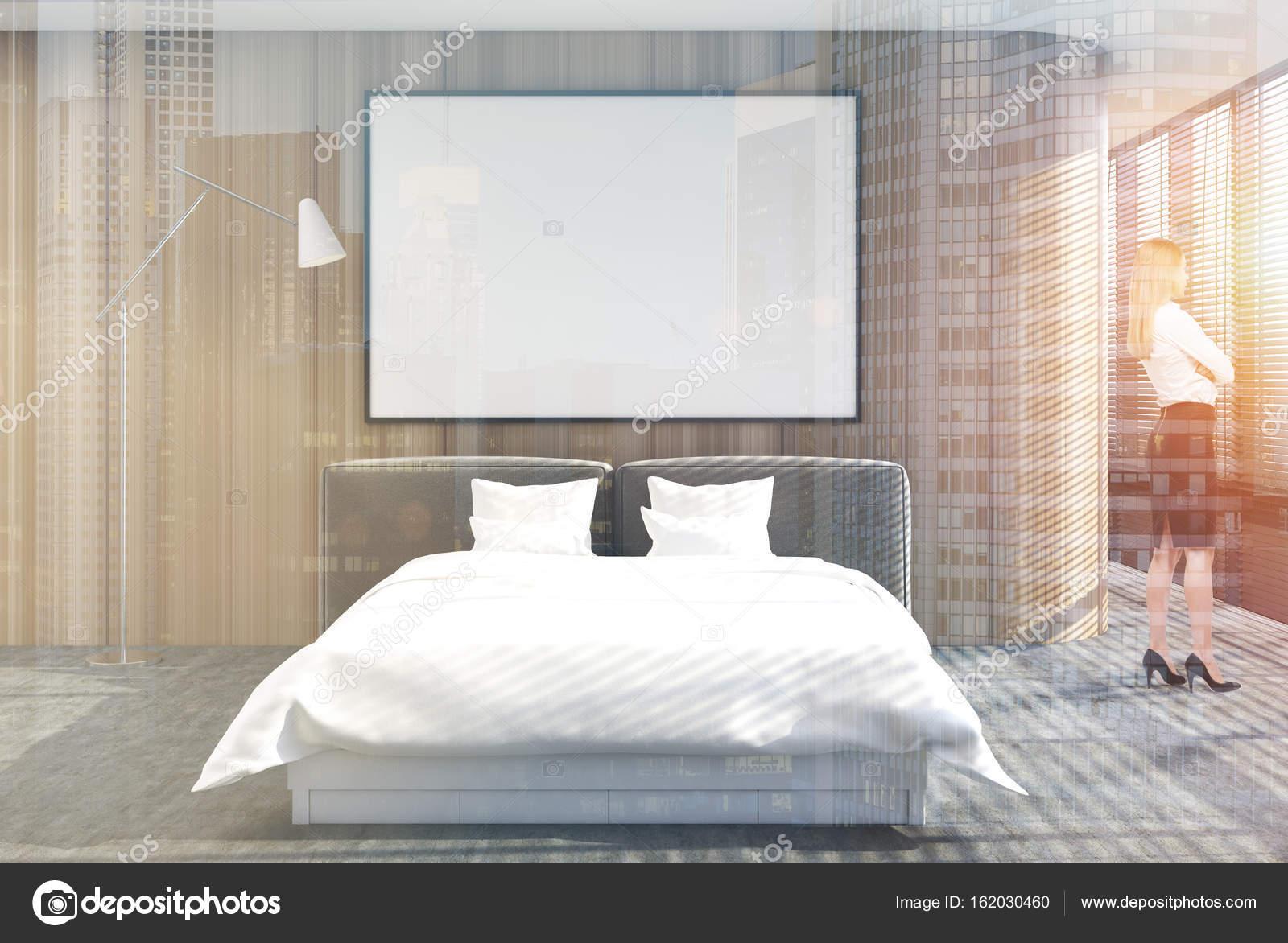 Camera Da Letto Matrimoniale Soppalco : Soppalco interno camera da letto sfumature poster doppio legno