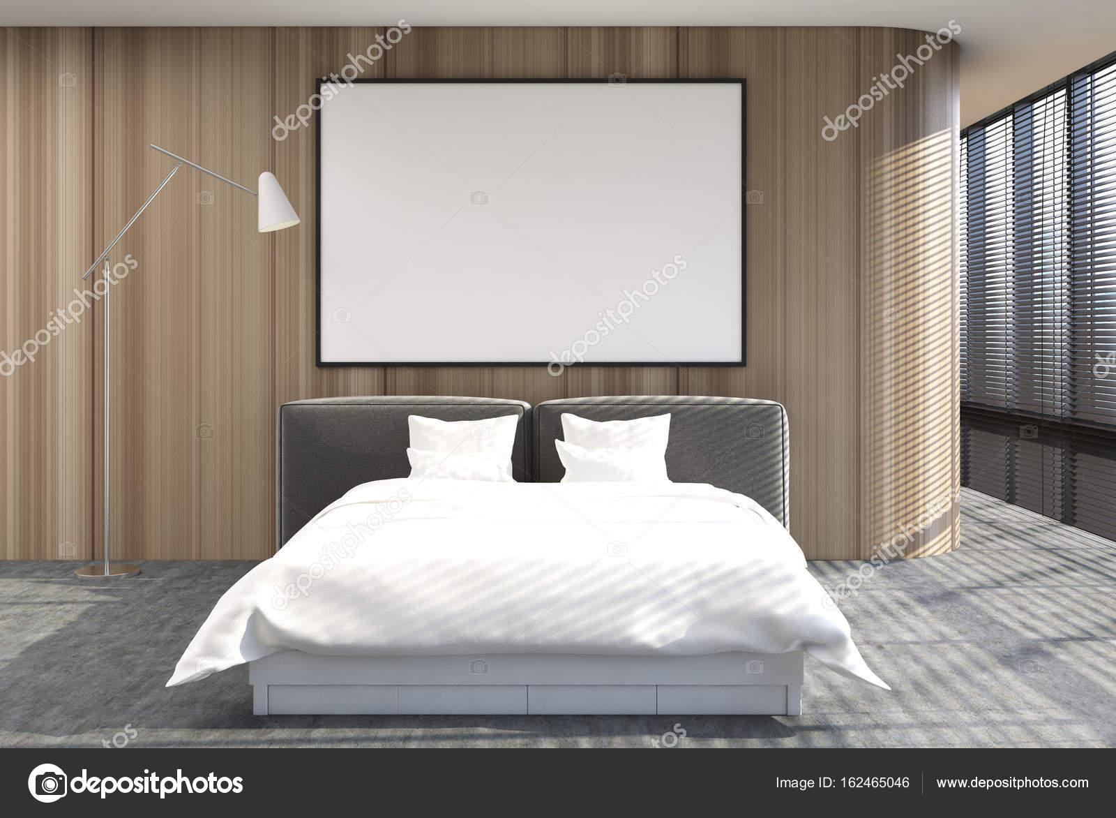 Camera Da Letto Con Soppalco : Soppalco interno camera da letto sfumature poster legno u foto