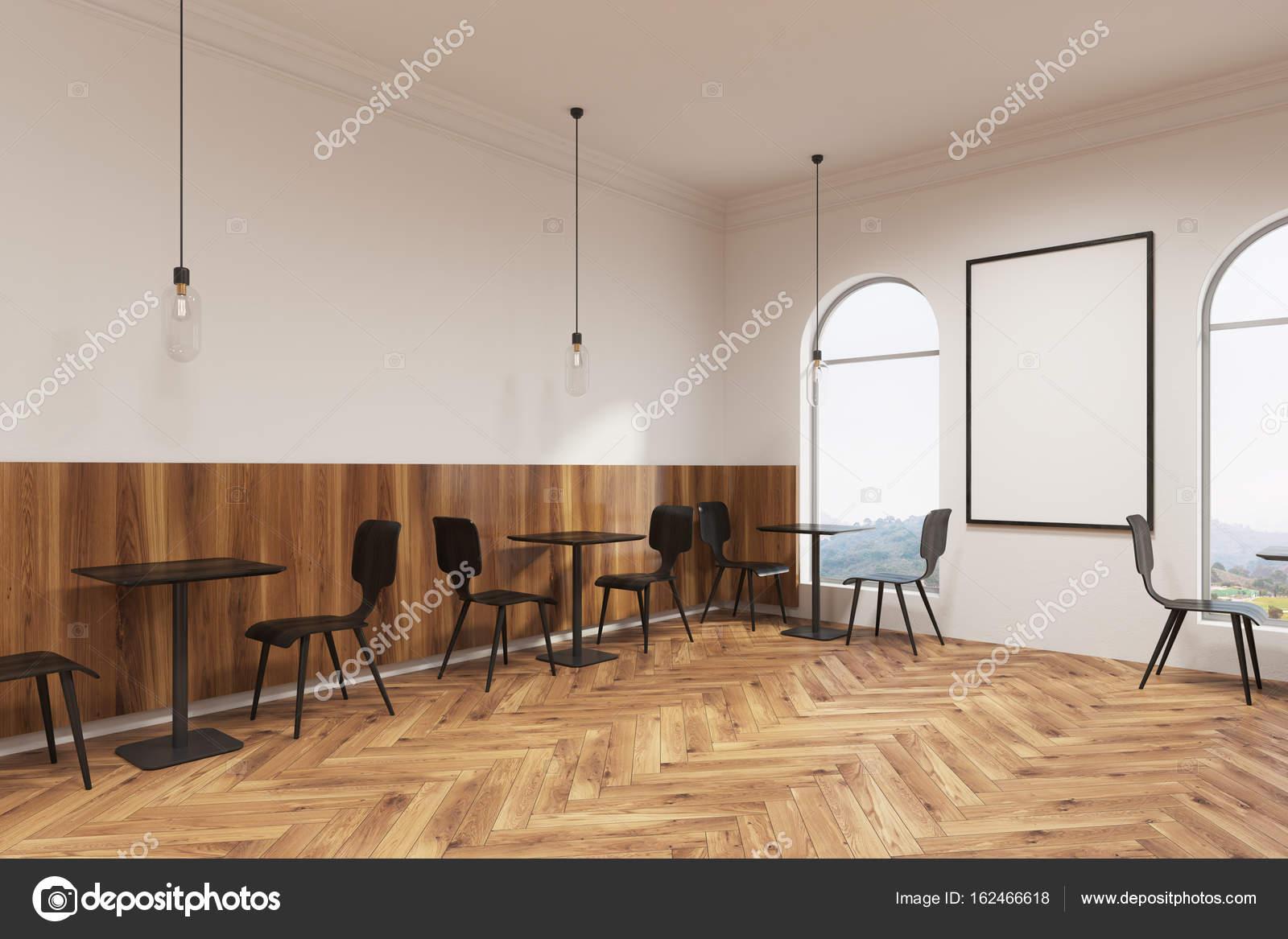 Wunderbar Schwarze Möbel Sammlung Von Moderne Möbel Café, Plakat Innenseite — Stockfoto