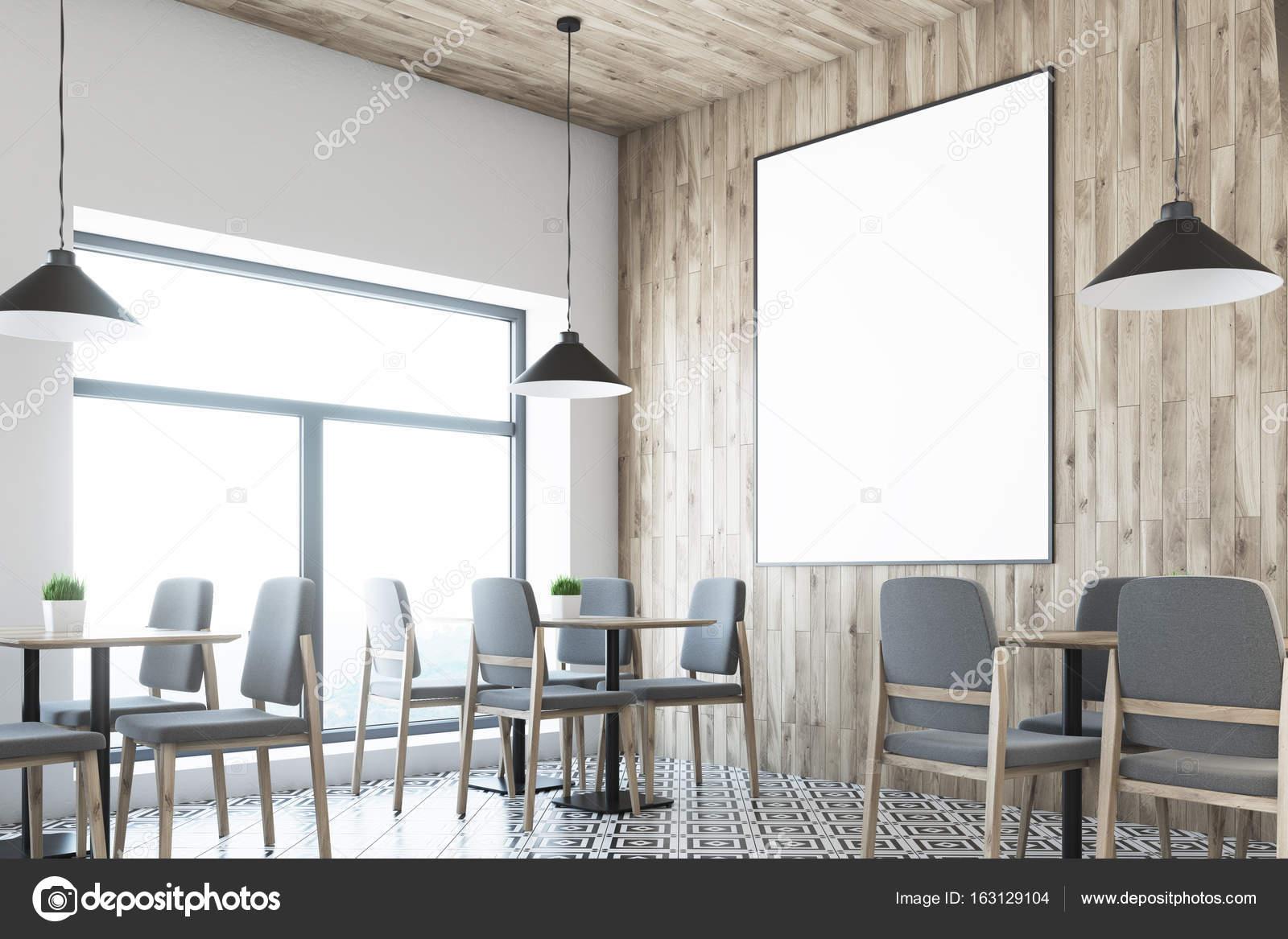 Soffitti In Legno Bianco : Cucina con soffitti inclinati il bianco e il legno dei mobili da