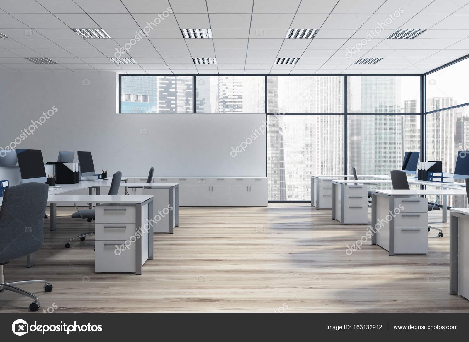 environnement de bureau open space photographie denisismagilov 163132912. Black Bedroom Furniture Sets. Home Design Ideas