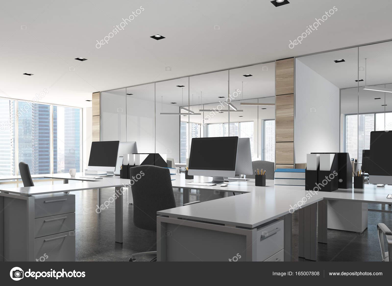 Ufficio Legno Bianco : Ufficio legno luminoso open space u2014 foto stock © denisismagilov