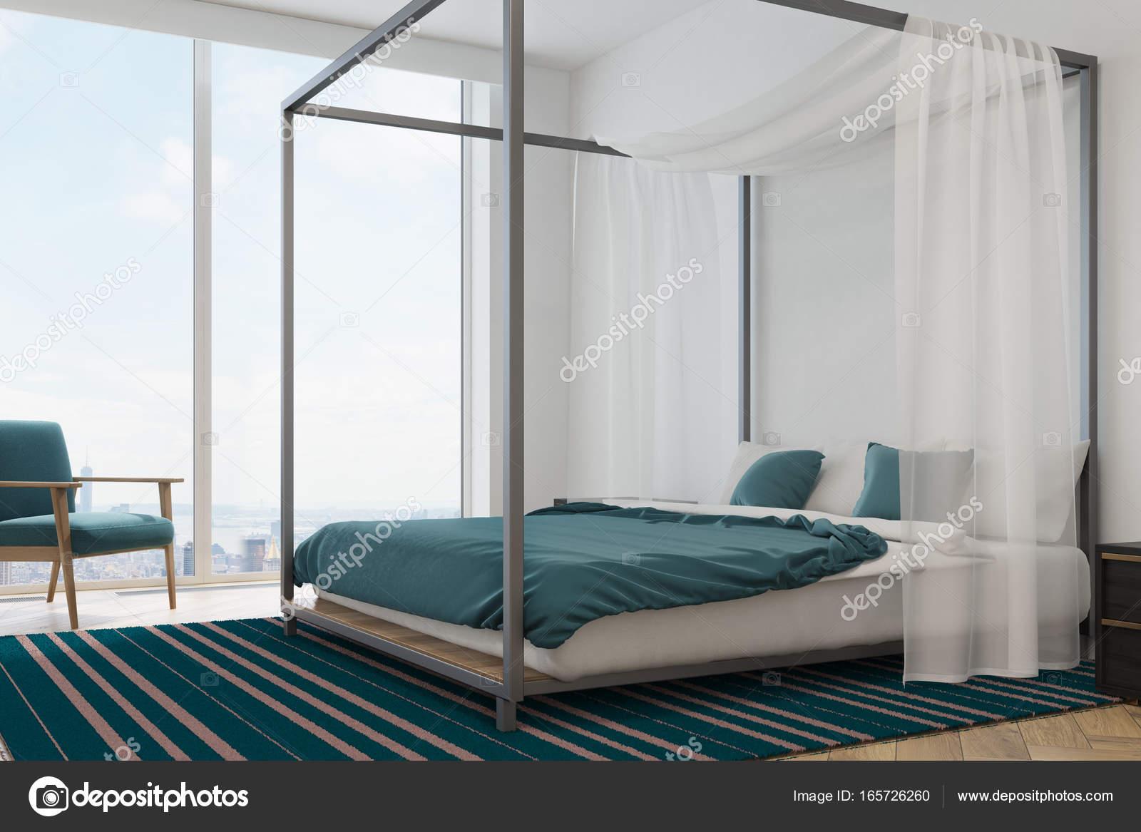 Camere Da Letto Blu : Il design minimo della camera da letto e la priorità bassa di