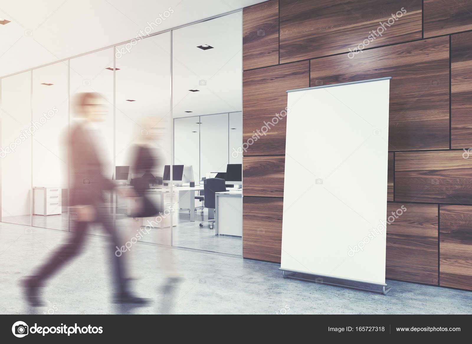 Ufficio Pavimento Grigio : Poster verticale sul pavimento dell ufficio lobby lato tonica