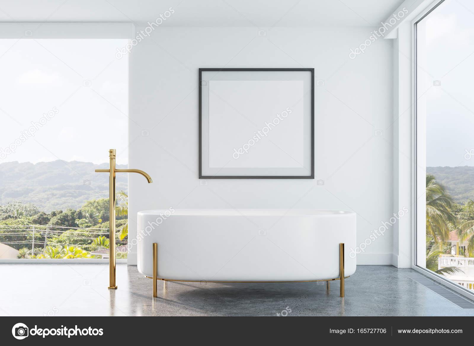 Affiche Salle De Bain ~ salle de bain original avec une affiche photographie
