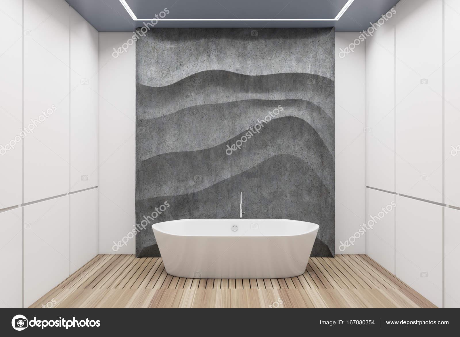 Vasca Da Bagno Con Pannelli : Vasca da bagno bianco e cemento bianco u2014 foto stock