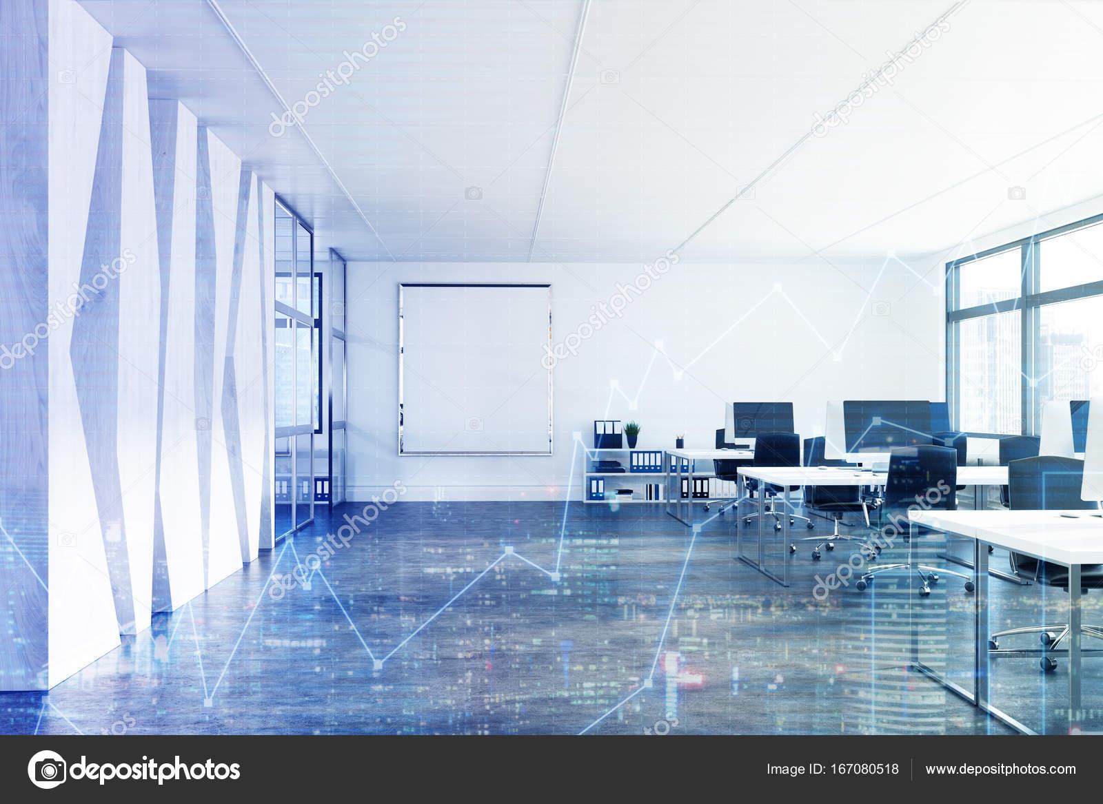 Ufficio Vetro E Legno : Vetro e legno aperto spazio ufficio poster tonica u foto stock