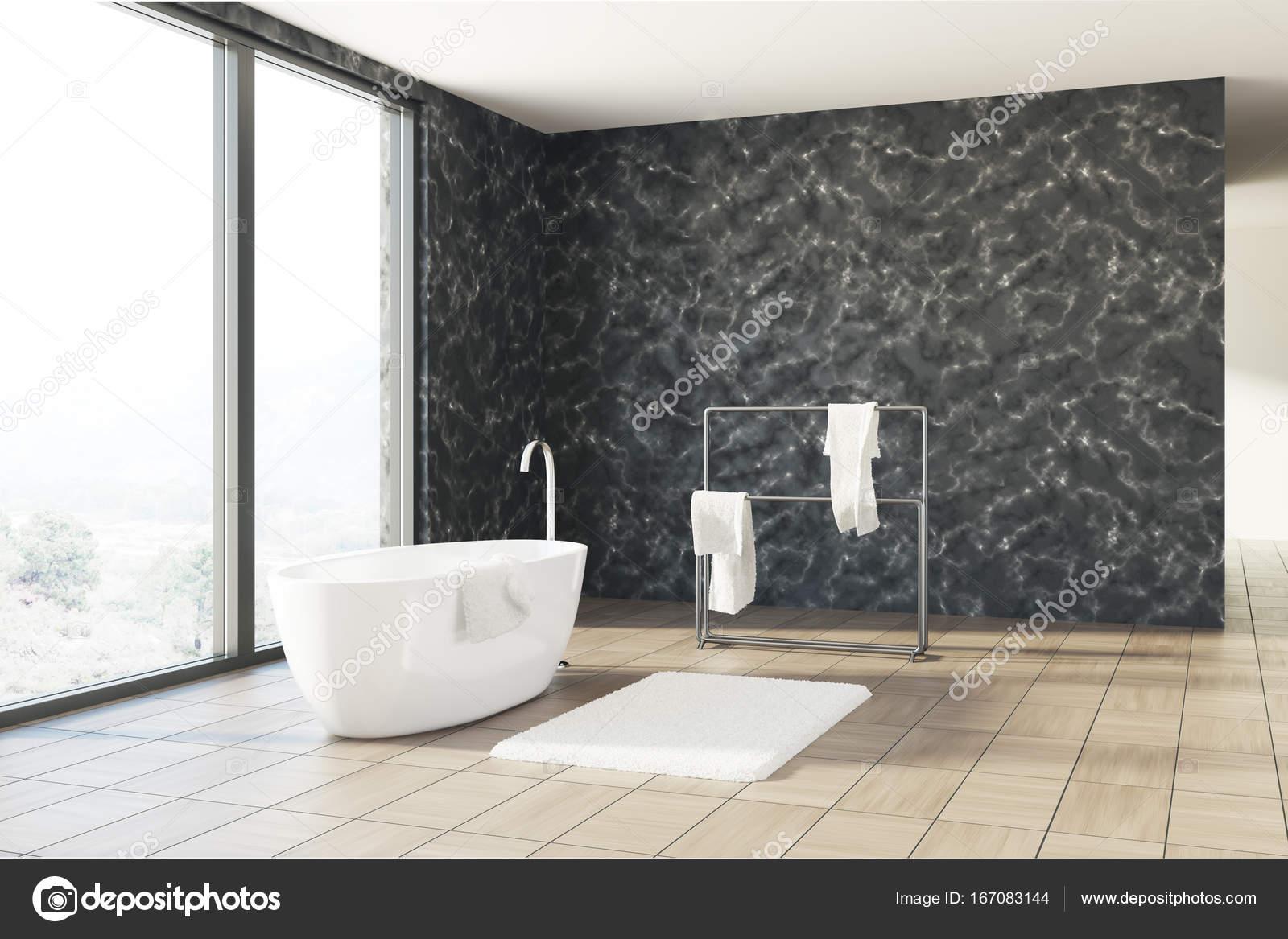 Vasca Da Bagno Marmo : Vasca da bagno in marmo nero bianco u foto stock denisismagilov