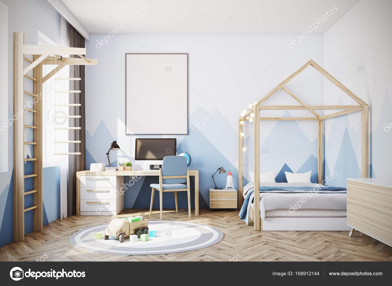 Habitaci n del beb ni o con un ordenador foto de stock denisismagilov 168912144 - Suelo habitacion ninos ...