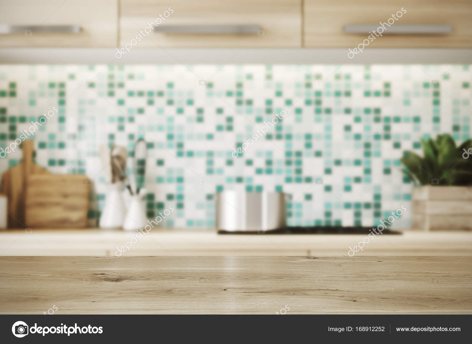 kitchen counter close up. Close Up Of A Kitchen Table, Countertop Toned \u2014 Stock Photo Counter