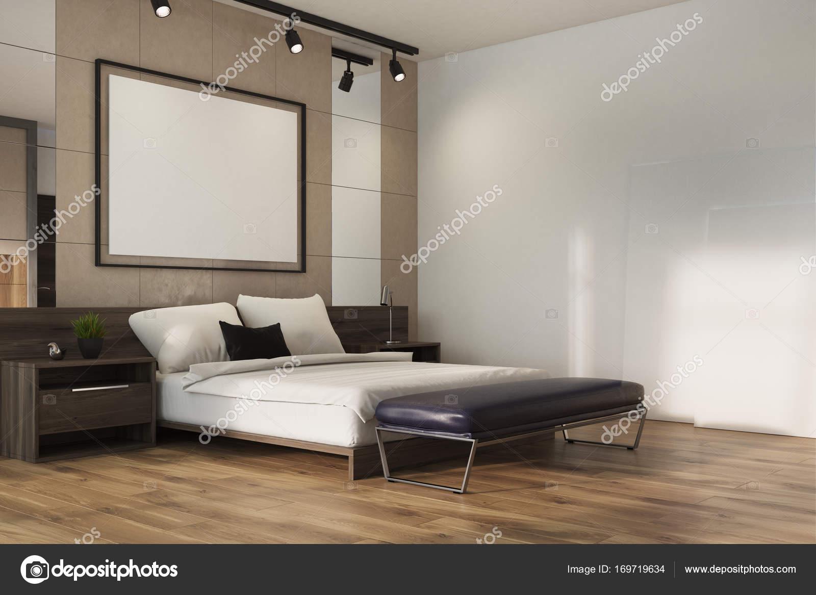 Angolo camera da letto loft beige poster foto stock denisismagilov 169719634 - Poster camera da letto ...