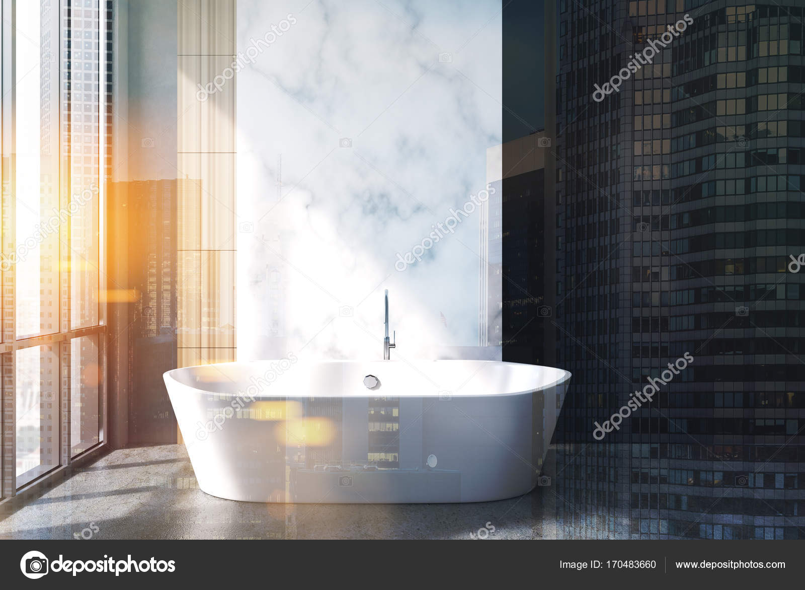 Vasca Da Bagno Marmo : Marmo e vasca da bagno vasca doppia u foto stock denisismagilov