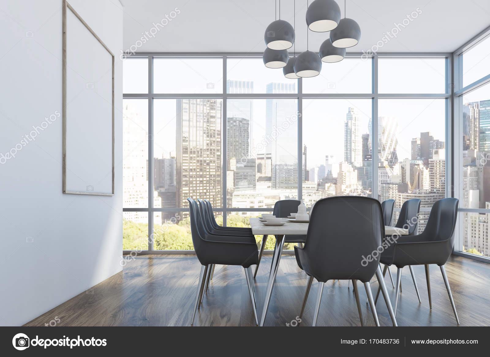wnde esszimmer, esszimmer, graue stühle, seite — stockfoto © denisismagilov #170483736, Design ideen