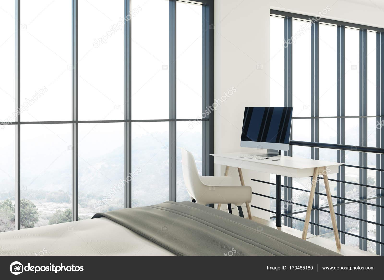 Un Piccolo Ufficio In Casa : Soppalco interno camera da letto camera da letto ufficio a casa