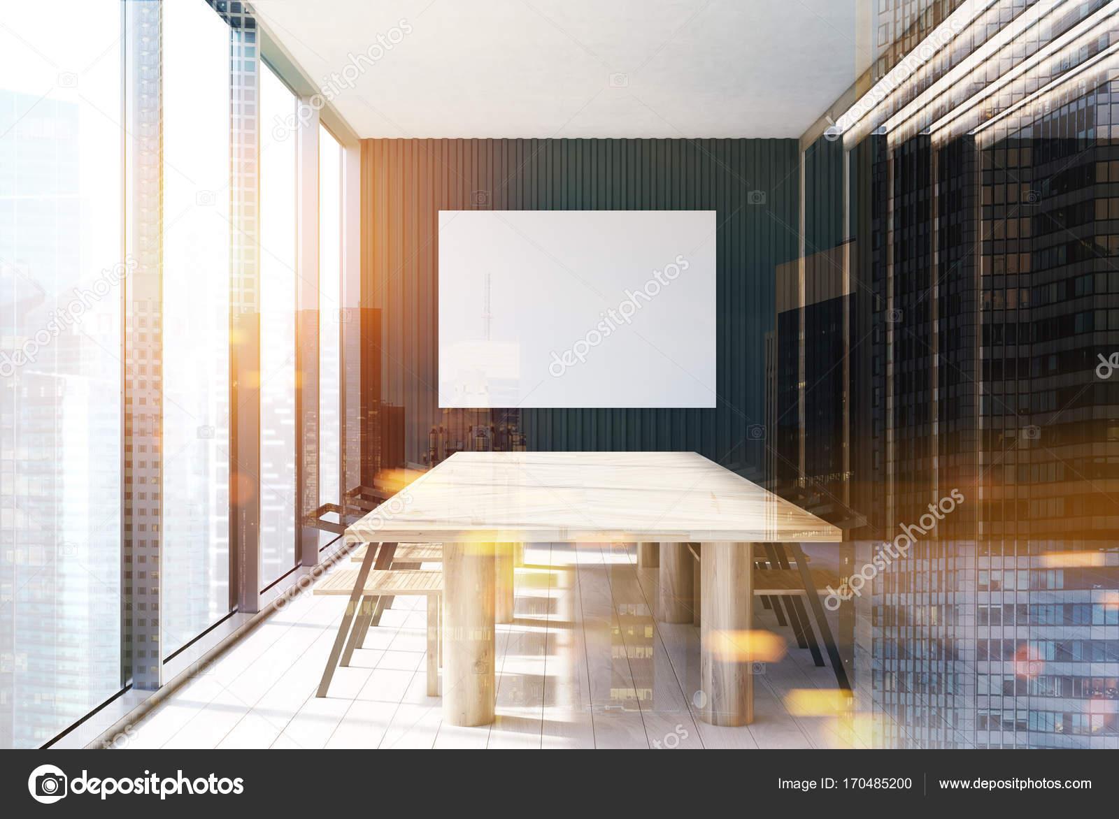 Wonderful Schwarz, Die Moderne Innenraum, Plakat Getönten Treffen U2014 Stockfoto