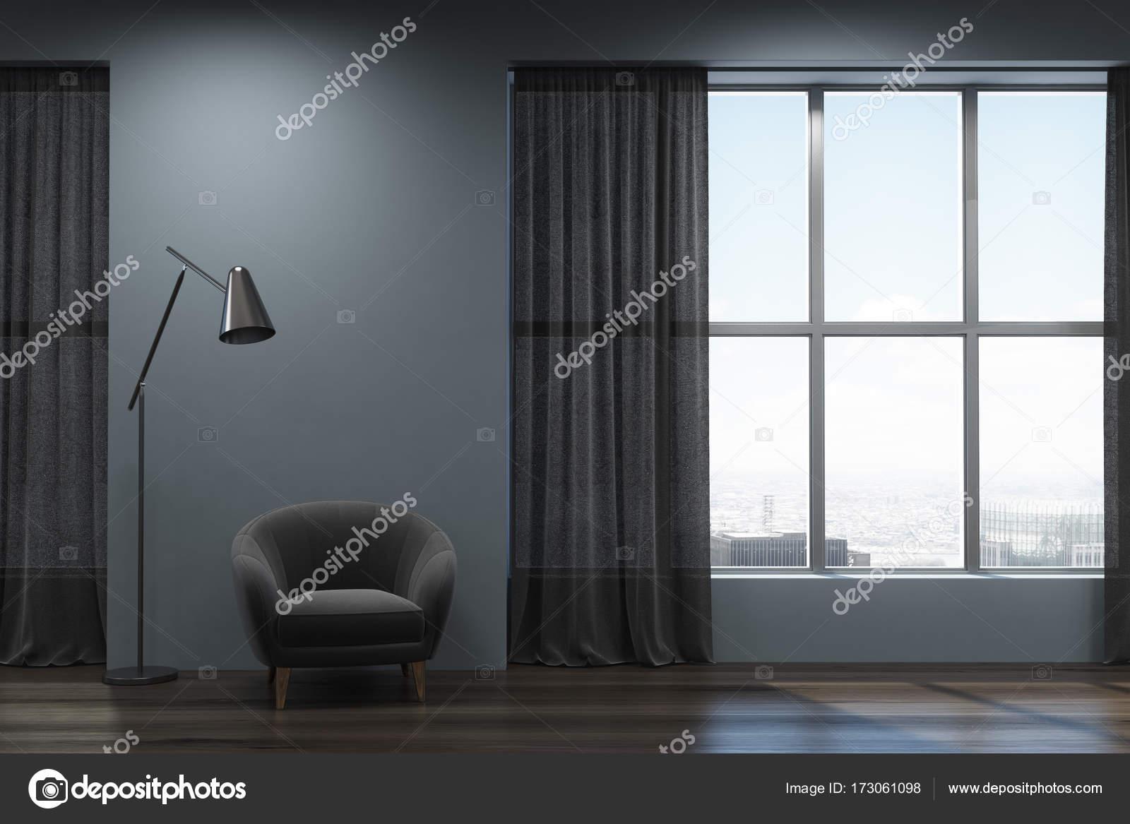 Wohnzimmer Schwarz Grau, schwarz grau wohnzimmer sessel — stockfoto © denisismagilov #173061098, Design ideen