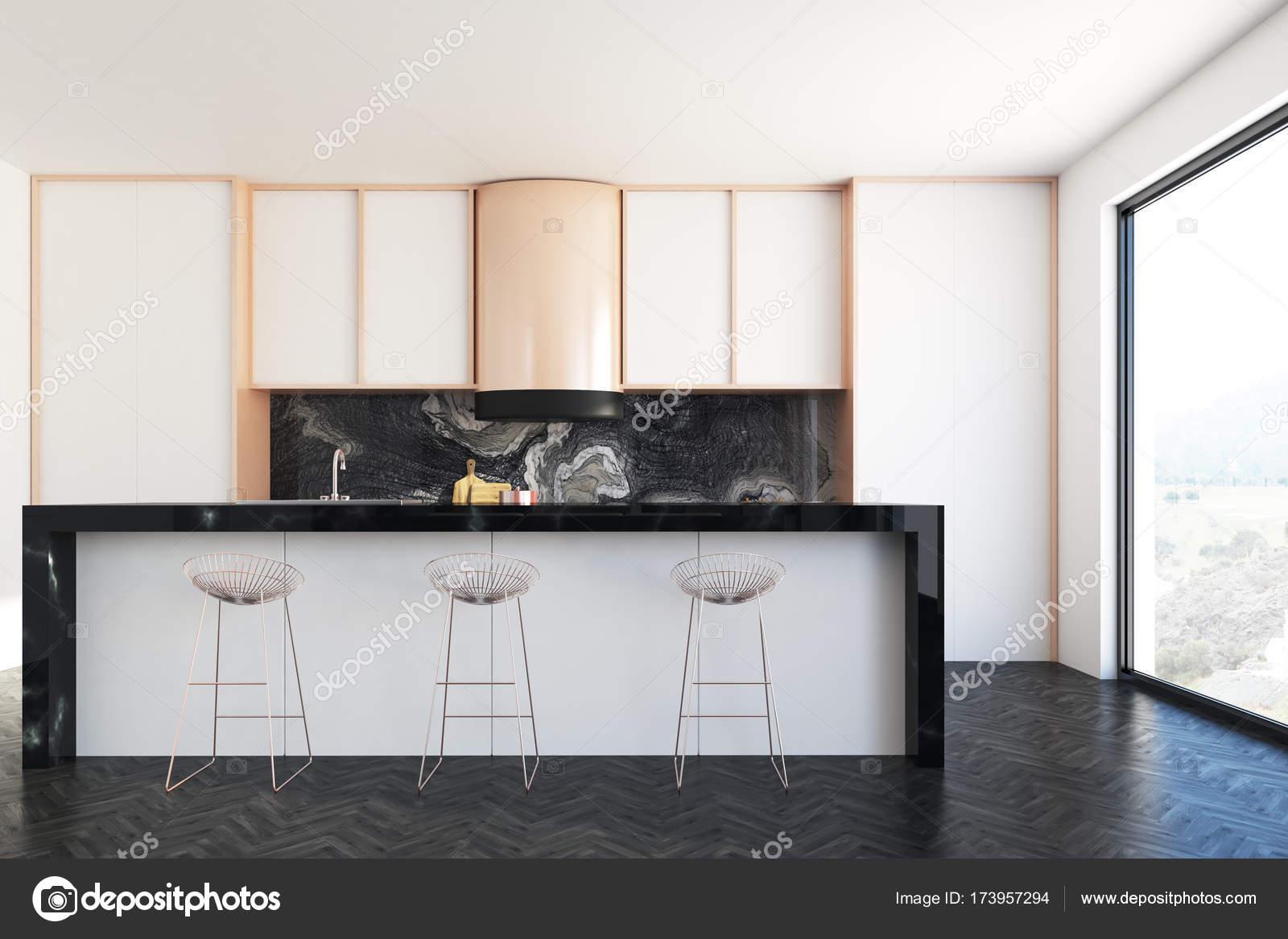 Weiß und Marmor Küchenbar — Stockfoto © denisismagilov #173957294