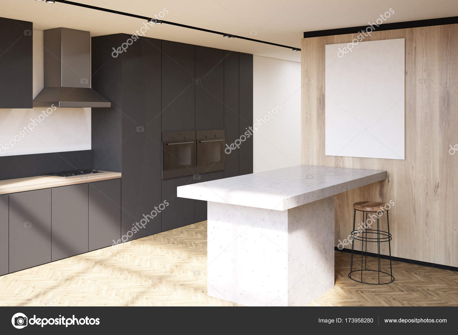 Beautiful Luxus Küche Ideas Of Küche Aus Holz, Schwarz Arbeitsplatten Seite —