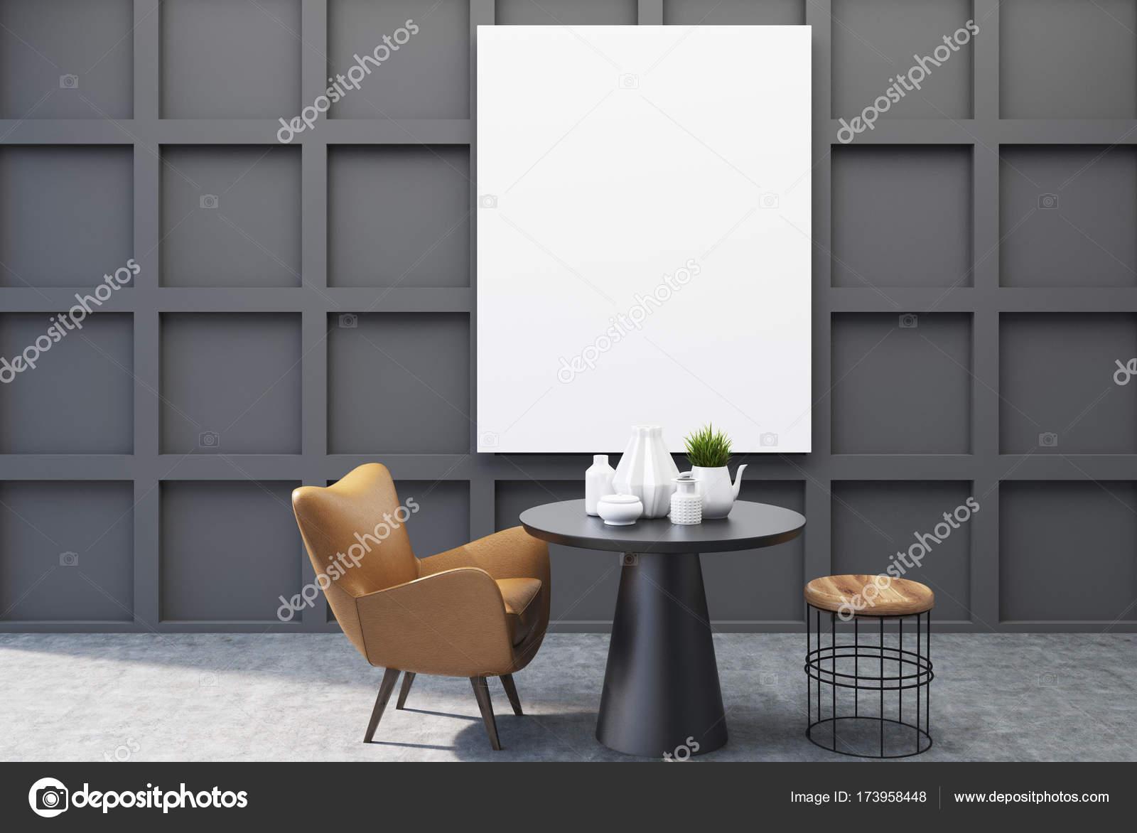 Esszimmer plakat tisch schwarz u2014 stockfoto © denisismagilov #173958448