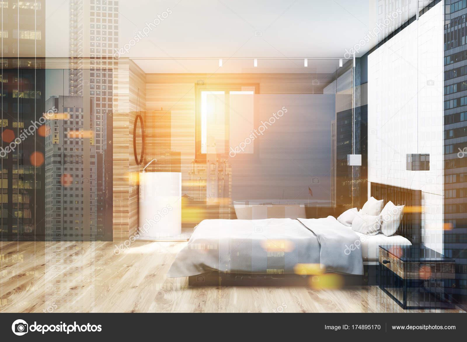 Szary Boczne Drewniane Sypialnia łazienka Drewno
