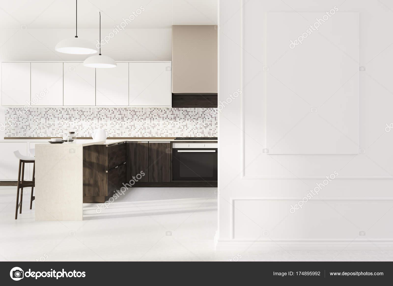 Cartel de cocina mosaico, blanco — Fotos de Stock © denisismagilov ...
