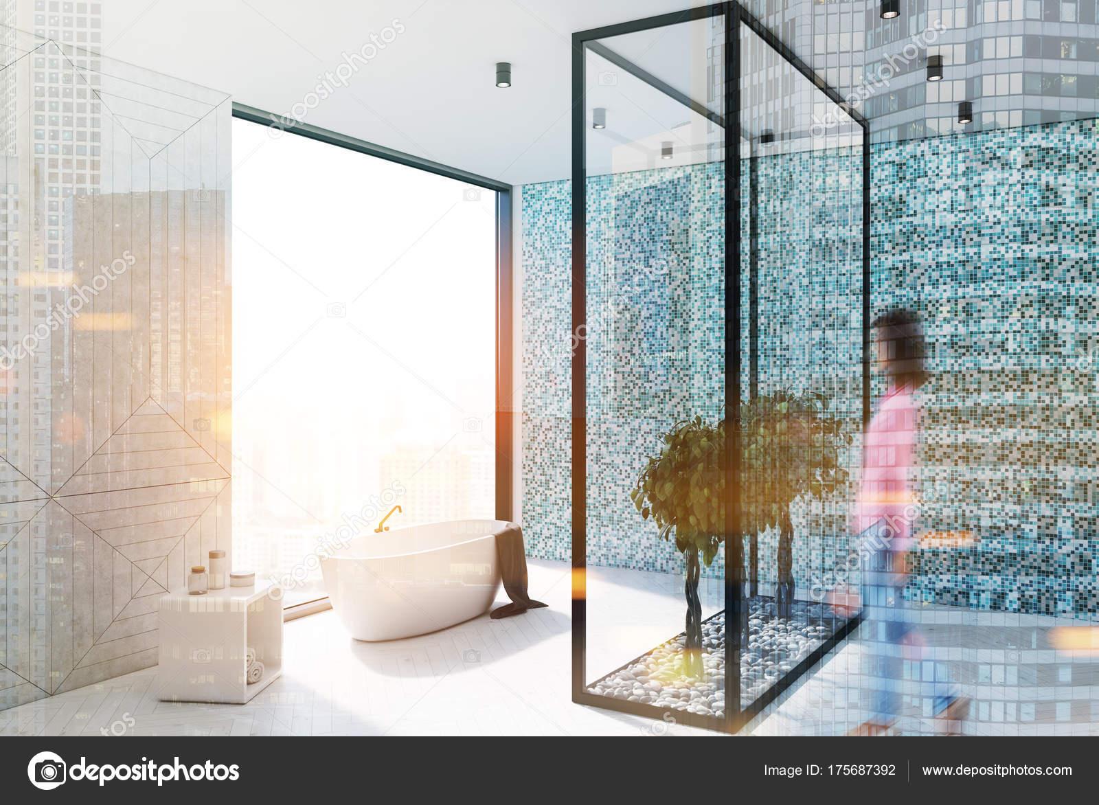 Wandtegels Badkamer Blauw : Badkamer met blauwe tegels inspiratie tegels interieur van