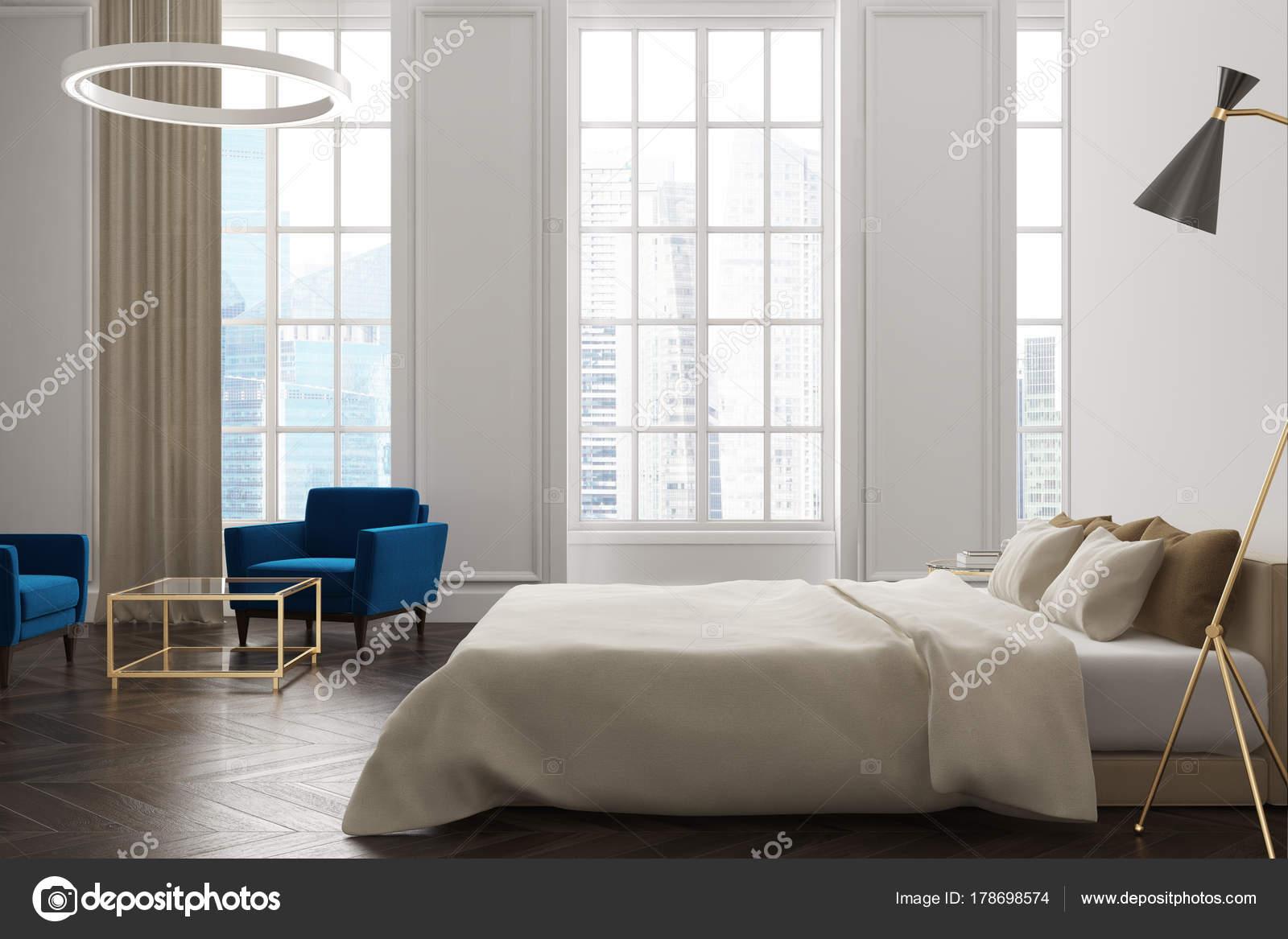 Camera Da Letto Bianca : Lato interno camera da letto bianca u foto stock denisismagilov