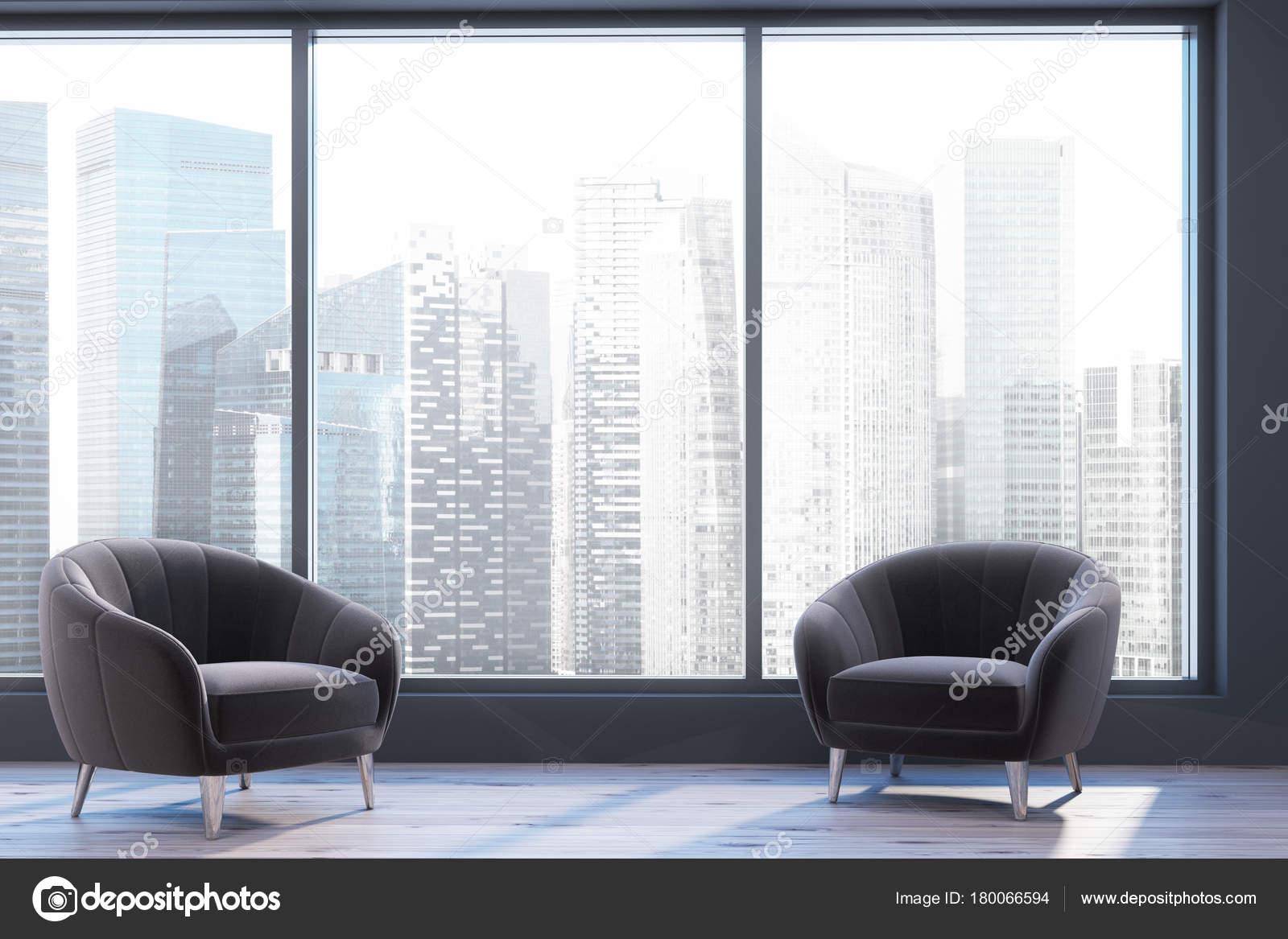 Panoramic Living Room Two Armchairs Stock Photo C Denisismagilov