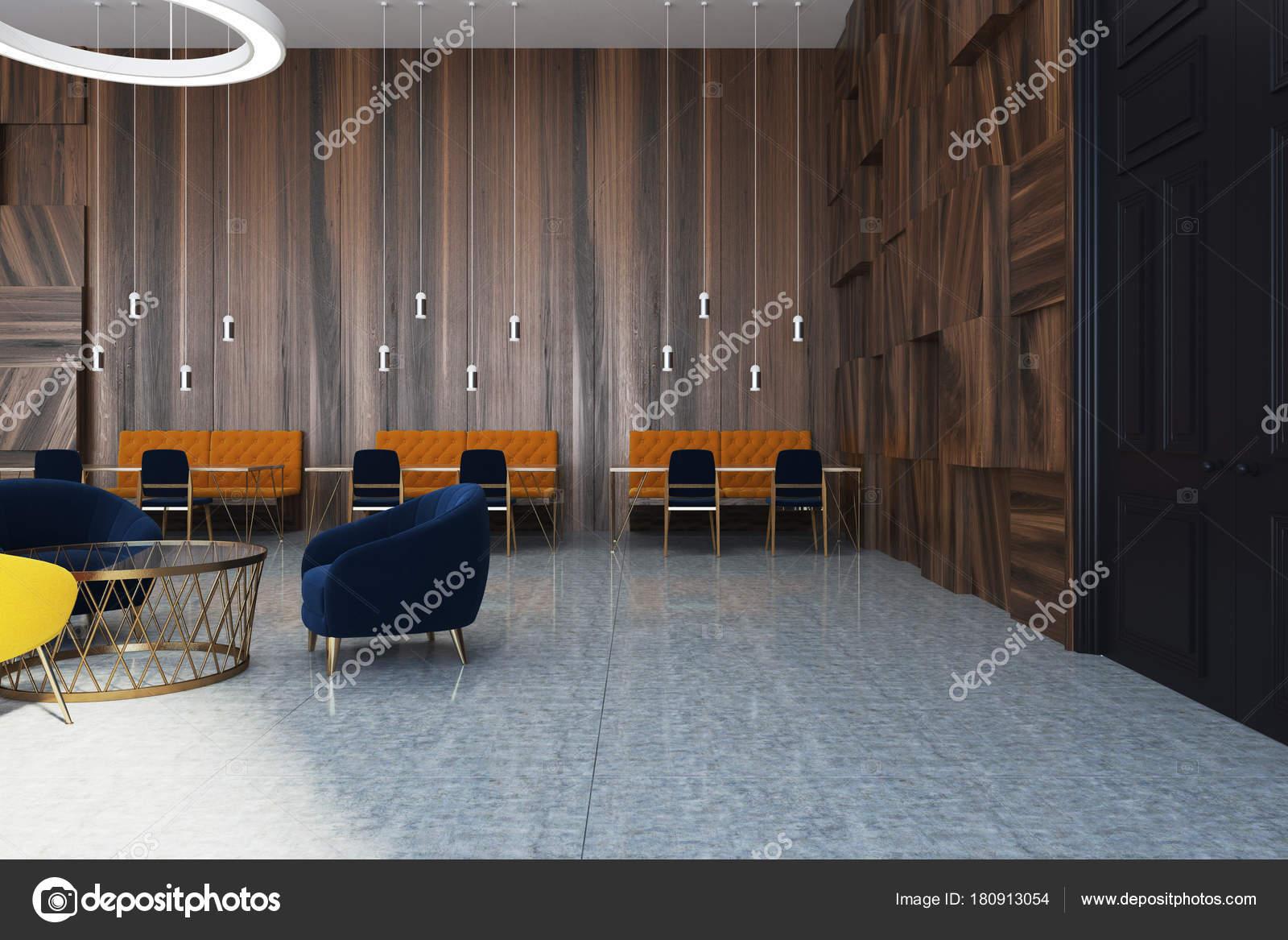 Wooden Modern Office Waiting Room Stock Photo C Denisismagilov 180913054